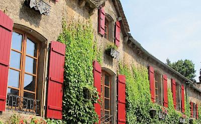 Les Magnolias Hotel in Plaisance, Aveyron, France. Photo via TO.