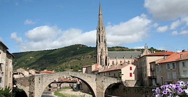 Saint-Affrique in Aveyron, Midi-Pyrenees, France. Photo via Wikimedia Commons:Fagairolles 34