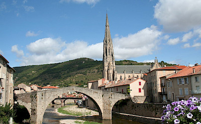 Saint-Affrique in Aveyron, Midi-Pyrenees, France. Photo via Wikimedia Commons:Fagairolles 34