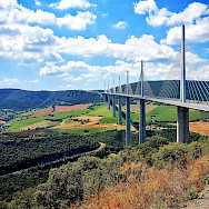 Viaduc du Millau in Midi-Pyrenees, France. Photo via Flickr:Samir Mohamed