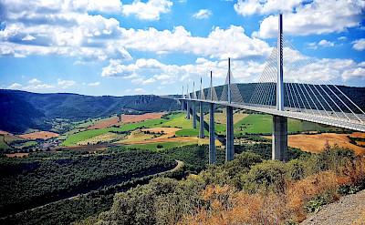 Viaduc du Millau in Midi-Pyrenees, France. Photo via Flickr:Samir Mohamed