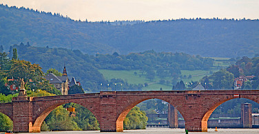 Bridge in Heidelberg, Germany. Photo via Flickr:Revjett