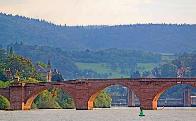 Bridge in Heidelberg, Germany. Photo via Flickr:Revjett