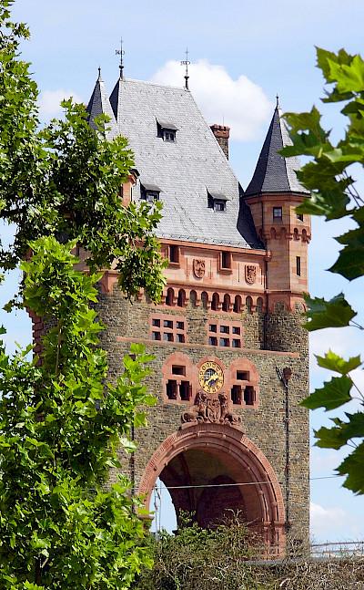 Nibelungen Bridge in Worms, Germany. Photo via Flickr:Dirk Wessner
