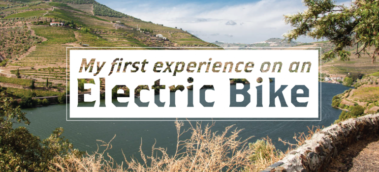 My first experience on an electric bike