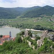 Dürnstein along the Danube River in Austria. Flickr:Muppets Panker