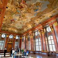 Melk Abbey, a Baroque Benedictine Monastery, in Lower Austria. Flickr:Daniel Stockman