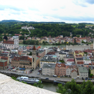 Panorama of Passau, Bavaria, Germany. Flickr:Brian Burger