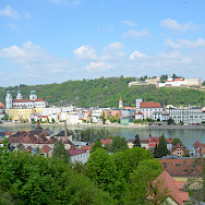 "The ""three river city"" of Passau in Lower Bavaria, Germany. Flickr:sugarbear96"