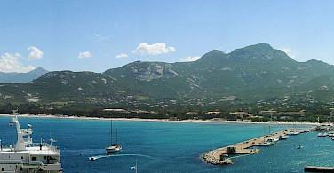 Bay of Calvi on Corsica Island, a region part of France. Photo via Wikimedia Commons:Public Domain