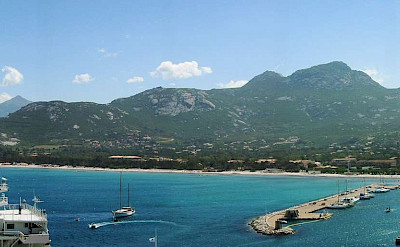 Bay of Calvi on Corsica Island, a region part of France. Photo via Wikimedia Commons:Public Domain