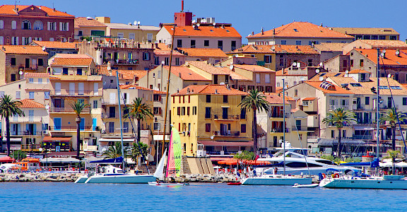 Port in Calvi, a gem on Corsica, France. Photo via Flickr:pascal POGGI 42.570499, 8.756825