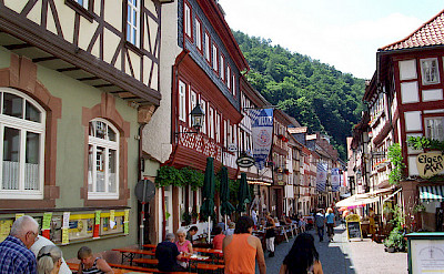 Schwarzviertel in Old Town, Miltenberg, Germany. Photo via Flickr:Teutonic Nights