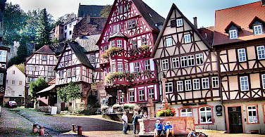 Bavarian architecture in Miltenberg, Germany. Photo via Flickr:ylimazovunc