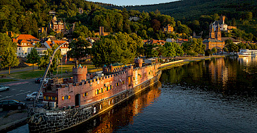 Main River in Miltenberg, Bavaria, Germany. Photo via Flickr:Carsten Frenzl