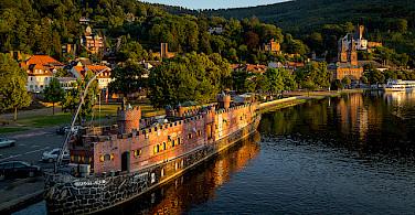 Main River in Miltenberg, Bavaria, Germany. Photo via Flickr:Carsten Frenzl