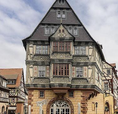 Hotel zum Riesen in Miltenberg, Germany. Photo via Wikimedia Commons:bytfisch