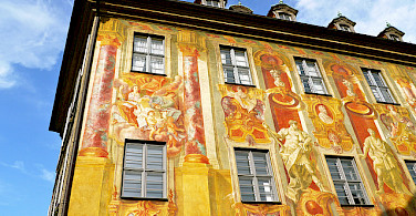 Old City Hall or Rathaus in Bamberg, Germany. Photo via Flickr:Resident on Earth