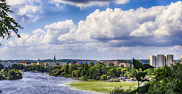 Overlooking the River Havel and Potsdam, Germany. Photo via Flickr:cadillacdeville2000