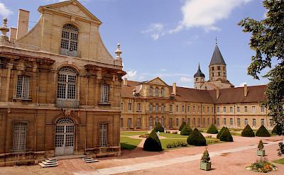 Abbaye de Cluny in Burgundy, France. Flickr:Olivier Duquesne