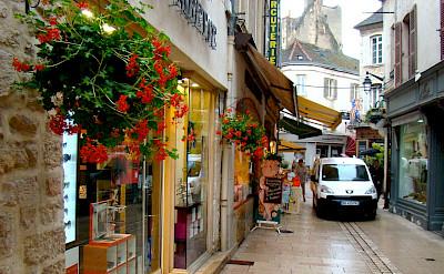 Biking through Beaune, Burgundy, France. Flickr:Dr. Bob Hall