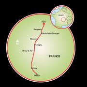 Best of Burgundy Map