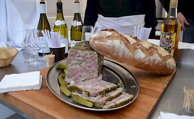 So many tasty treats and wines to try in Burgundy, France. Photo via TO