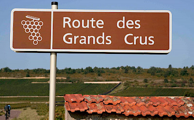 Taking the wine route in Burgundy, France.