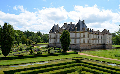 Great châteaux in Burgundy, France.