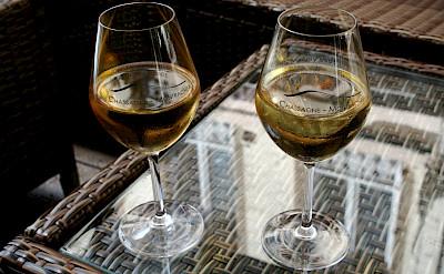French Chardonnay from the Côte de Beaune region of Chassagne-Montrachet, Burgundy, France. Flickr:Megan Cole