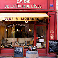 Wines for sale in Burgundy, a major wine-producing region of France.