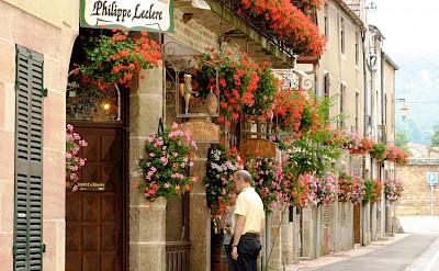 Wine village of Gevrey-Chambertin in Burgundy, France. Flickr:scarey15