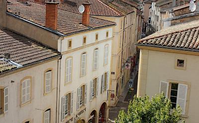 Ville Cluny in department Saône-et-Loire, region Burgundy, France. Flickr:nicola young