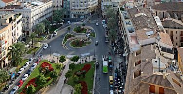 View of Valencia from Torre Miguelete in Spain. Photo via Flickr:vil.sandi