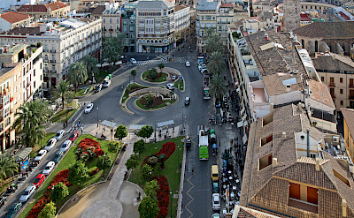 View of Valencia from Torre Miguelete in Spain. Photo via Flickr:vil.sandi