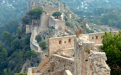 Chateau en Espagne in Xativa, Spain. Photo via Flickr:Olivier Bacquet