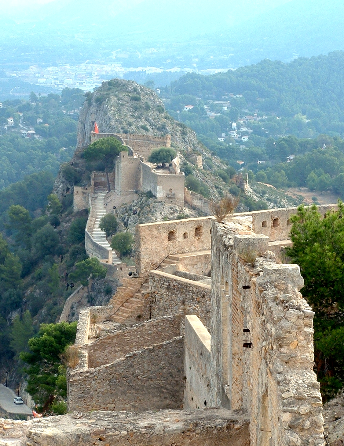 Map Of Xativa Spain.Valencia Region Of Colors And Contrasts Spain Tripsite