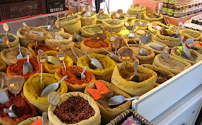 Market in Ajaccio, Corsica, France. Photo via Flickr:Frank Jania