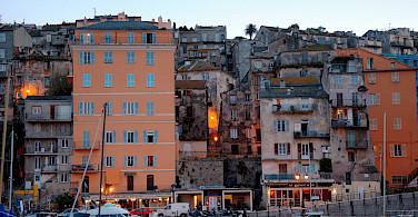 Port of Bastia on the island of Corsica, France. Photo via Flickr:Fr Maxim Massalitin