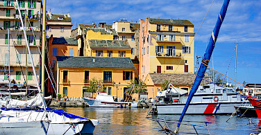 Harbor in Bastia, Corsica, France. Photo via Flickr:Pascal POGGI
