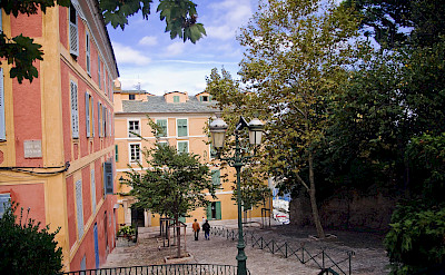 Bastia has beautiful architecture. Corsica, France. Photo via Flickr:Daniel Cremona