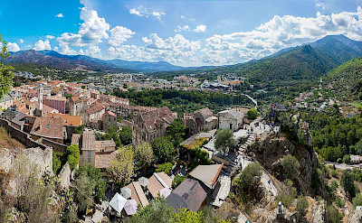 Overlooking Corte in Corsica, France. Photo via Wikimedia Commons:Noxstar8