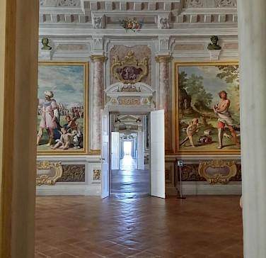 Palazzo ducale, Emilia-Romagna, Italy.