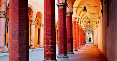 Portici de Bologna, Emilia-Romagna, Italy.