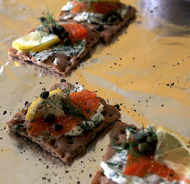 Gravlax is a traditional treat in Sweden. Photo via Flickr:Charles Haynes