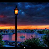 Sunset in Stockholm, Sweden. Photo via Flickr:Tobias Lindman