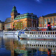 Stockholm sits among 14 islands as well as Lake Mälaren and the Baltic Sea, Sweden. Photo via Flickr:Michael Caven