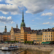 Summertime in Stockholm, Sweden. Photo via Flickr:Pedro Szekely