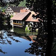 Beautiful Blaubeuren is part of Baden-Württemberg in Germany. Photo via Wikimedia Commons:Franzfoto