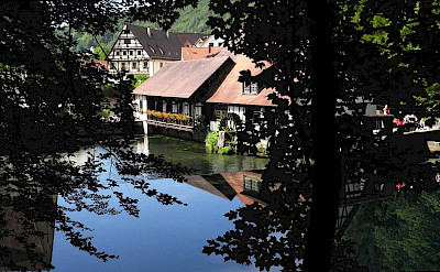 Beautiful Blaubeuren is part of Baden-Württemberg in Germany. Photo via Wikimedia Commons:Franzfoto